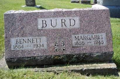BURD, MARGARET - Dubuque County, Iowa   MARGARET BURD