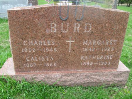 BURD, CALISTA - Dubuque County, Iowa | CALISTA BURD