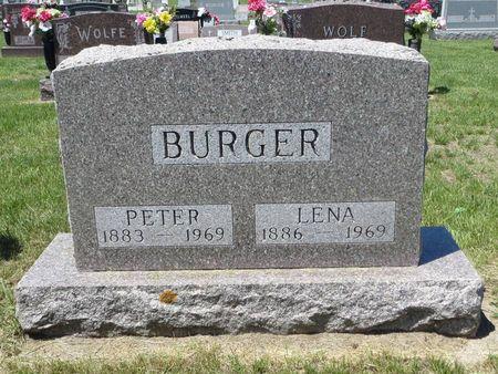 BURGER, LENA - Dubuque County, Iowa | LENA BURGER
