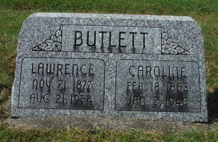 BUTLETT, CAROLINE - Dubuque County, Iowa   CAROLINE BUTLETT