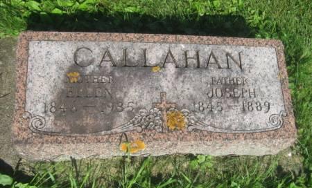 CALLAHAN, JOSEPH - Dubuque County, Iowa   JOSEPH CALLAHAN