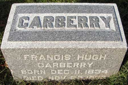 CARBERRY, FRANCIS HUGH - Dubuque County, Iowa | FRANCIS HUGH CARBERRY
