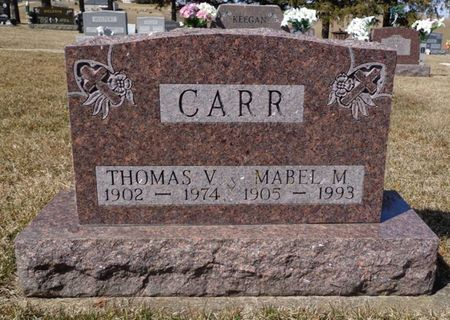 CARR, MABEL M. - Dubuque County, Iowa | MABEL M. CARR