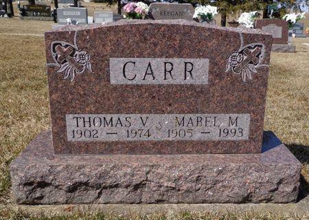 CARR, THOMAS V. - Dubuque County, Iowa | THOMAS V. CARR
