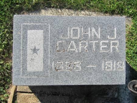 CARTER, JOHN J. - Dubuque County, Iowa   JOHN J. CARTER