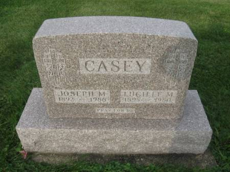 CASEY, LUCILLE M. - Dubuque County, Iowa   LUCILLE M. CASEY