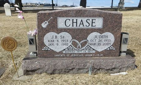 CHASE, JUDITH - Dubuque County, Iowa   JUDITH CHASE