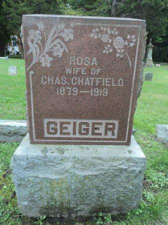 GEIGER CHATFIELD, ROSA - Dubuque County, Iowa | ROSA GEIGER CHATFIELD