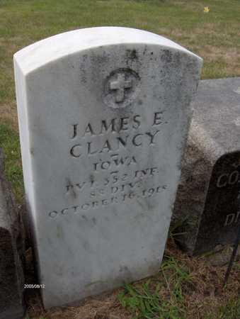 CLANCY, JAMES E. - Dubuque County, Iowa | JAMES E. CLANCY
