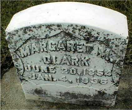 CLARK, MARGARET M. - Dubuque County, Iowa   MARGARET M. CLARK