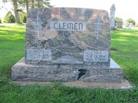 CLEMEN, CHRIS - Dubuque County, Iowa | CHRIS CLEMEN