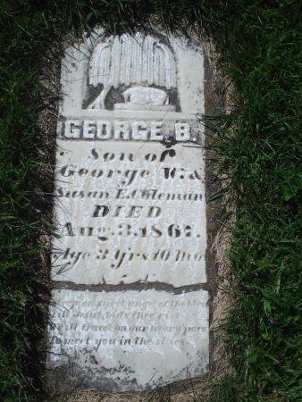 COLEMAN, GEORGE B. - Dubuque County, Iowa   GEORGE B. COLEMAN