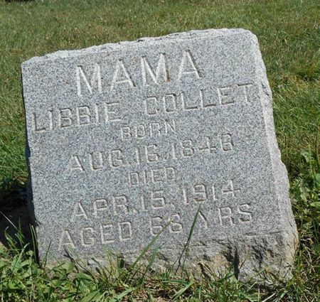 COLLET, LIBBIE - Dubuque County, Iowa | LIBBIE COLLET