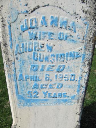 CONSIDINE, JOANNA - Dubuque County, Iowa | JOANNA CONSIDINE