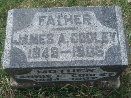COOLEY, JAMES A. - Dubuque County, Iowa | JAMES A. COOLEY