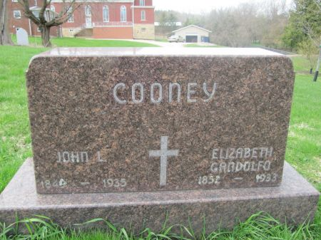 GANDOLFO COONEY, ELIZABETH - Dubuque County, Iowa   ELIZABETH GANDOLFO COONEY