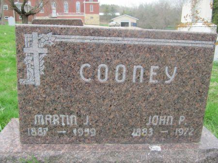 COONEY, MARTIN J. - Dubuque County, Iowa   MARTIN J. COONEY