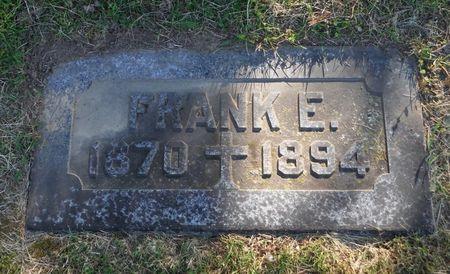 CORCORAN, FRANK E. - Dubuque County, Iowa | FRANK E. CORCORAN