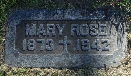 CORCORAN, MARY ROSE - Dubuque County, Iowa | MARY ROSE CORCORAN