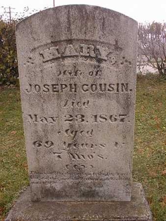 COUSIN, MARY - Dubuque County, Iowa | MARY COUSIN