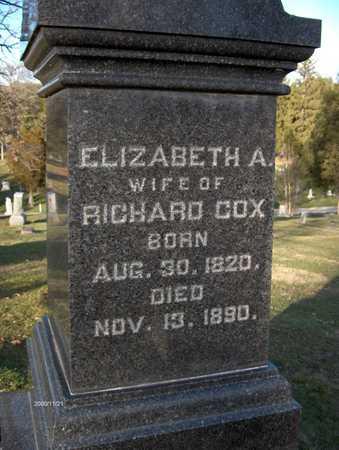 COX, ELIZABETH A. - Dubuque County, Iowa   ELIZABETH A. COX
