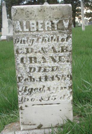 CRANE, ALBERT W. - Dubuque County, Iowa   ALBERT W. CRANE
