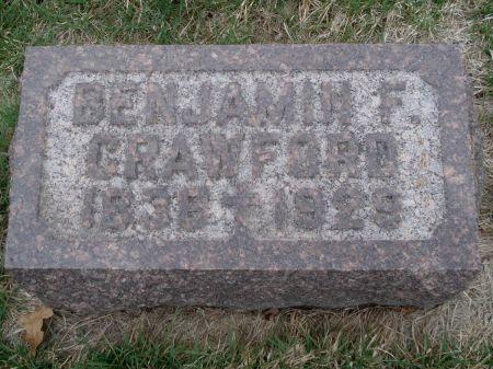 CRAWFORD, BENJAMIN F. - Dubuque County, Iowa   BENJAMIN F. CRAWFORD