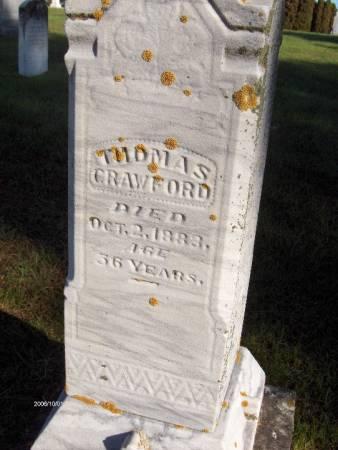 CRAWFORD, THOMAS - Dubuque County, Iowa | THOMAS CRAWFORD