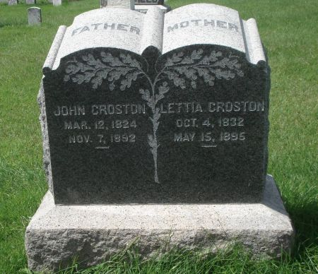 CROSTON, JOHN - Dubuque County, Iowa | JOHN CROSTON