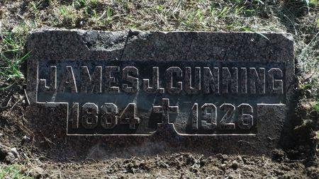CUNNING, JAMES J. - Dubuque County, Iowa   JAMES J. CUNNING