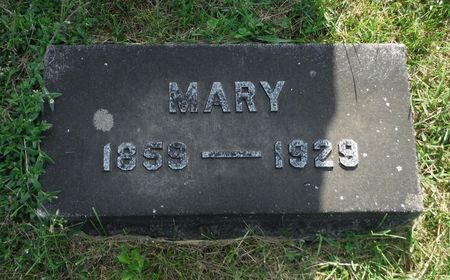CUNNINGHAM, MARY - Dubuque County, Iowa | MARY CUNNINGHAM