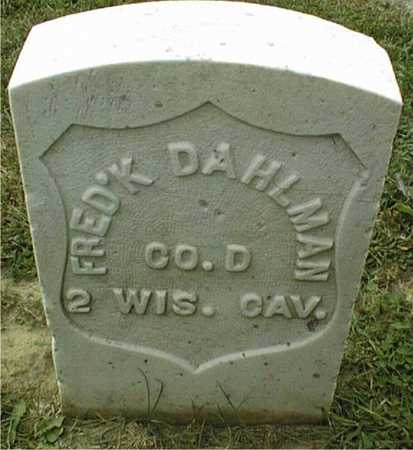 DAHLMAN, FREDERICK - Dubuque County, Iowa | FREDERICK DAHLMAN
