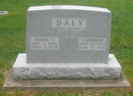DALY, CATHERINE - Dubuque County, Iowa | CATHERINE DALY