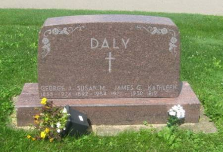 DALY, JAMES G. - Dubuque County, Iowa   JAMES G. DALY