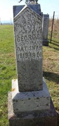 DATISMAN, GEORGE - Dubuque County, Iowa   GEORGE DATISMAN