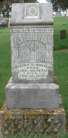 DAVISON, LOVENIA C. - Dubuque County, Iowa | LOVENIA C. DAVISON