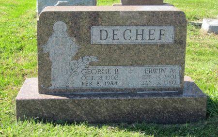 DECHER, GEORGE B. - Dubuque County, Iowa   GEORGE B. DECHER