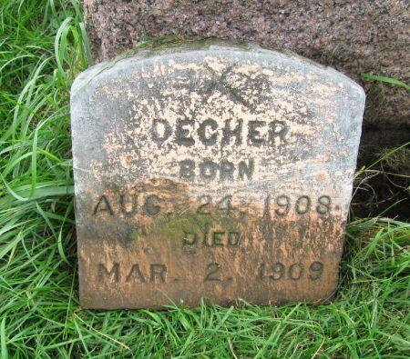 DECHER, RAYMOND - Dubuque County, Iowa | RAYMOND DECHER