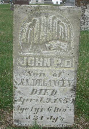 DELANCEY, JOHN P. D. - Dubuque County, Iowa | JOHN P. D. DELANCEY