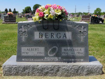 DERGA, ALBERT - Dubuque County, Iowa   ALBERT DERGA