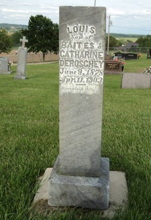DEROSCHEY, LOUIS - Dubuque County, Iowa   LOUIS DEROSCHEY