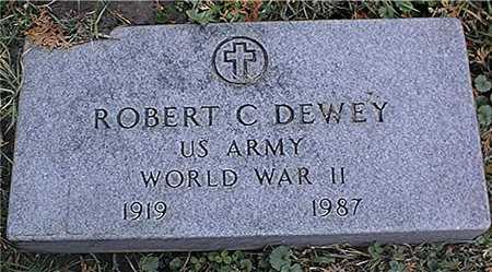 DEWEY, ROBERT C. - Dubuque County, Iowa   ROBERT C. DEWEY