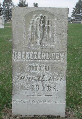 DOW, EBENEZER L. - Dubuque County, Iowa | EBENEZER L. DOW