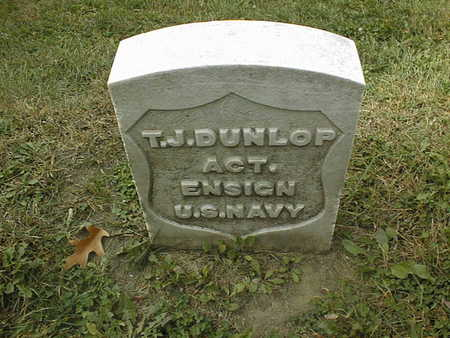 DUNLOP, T.J. - Dubuque County, Iowa | T.J. DUNLOP