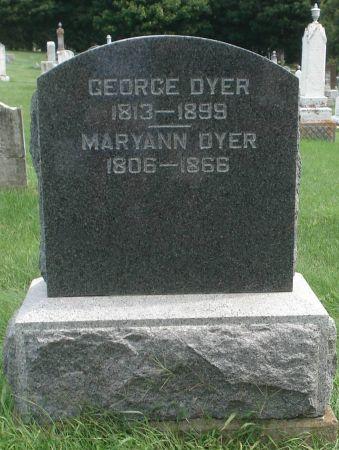 DYER, GEORGE - Dubuque County, Iowa | GEORGE DYER