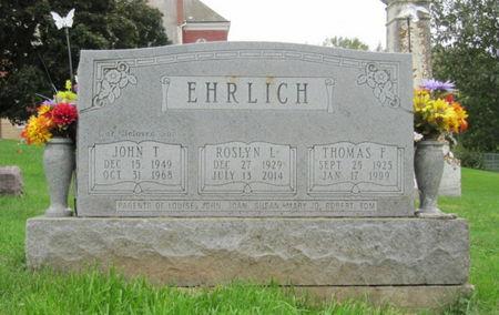 FINZEL EHRLICH, ROSLYN L. - Dubuque County, Iowa | ROSLYN L. FINZEL EHRLICH