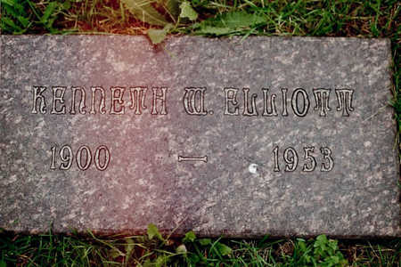 ELLIOTT, KENNETH W. - Dubuque County, Iowa | KENNETH W. ELLIOTT