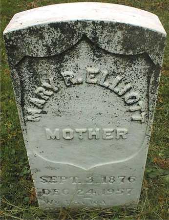 ELLIOTT, MARY R. - Dubuque County, Iowa | MARY R. ELLIOTT