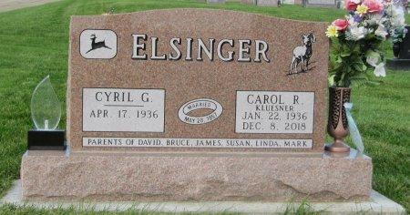 ELSINGER, CYRIL G. - Dubuque County, Iowa | CYRIL G. ELSINGER