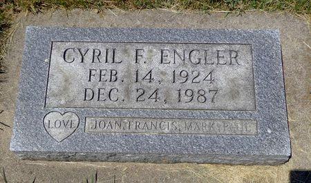 ENGLER, CYRIL F. - Dubuque County, Iowa   CYRIL F. ENGLER